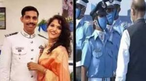 Garima Abrol, Wife Of Martyr Pilot Squadron Leader Sameer Abrol Joins IAF As Flying Officer