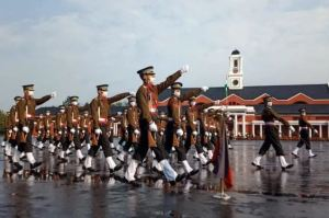IMA Passing Out Parade Held Following Covid-19 rules, 325 military officers got to the country