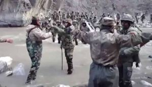 Galwan Valley Clash : Video Of Chinese and Indian Soldiers Viral