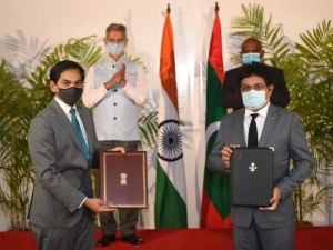 Agreement between India and Maldives in areas of sustainable urban development