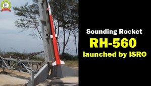 Sounding Rocket RH-560 Launched by ISRO