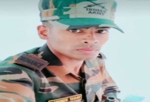 Assam : Army jeep fells into ditch in Assam, Ghazipur Jawan Abhishek Yadav died, had to come home for first time after job