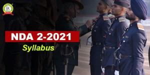 NDA 2 2021 Syllabus