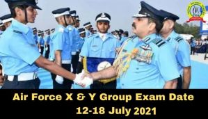 Air Force X & Y Group Airmen Star 01/2021 Exam Date From 12-18 July 2021