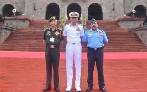 Chiefs Of All Armed Forces Wings Visit NDA Pune To Review Training & Administrative Infra