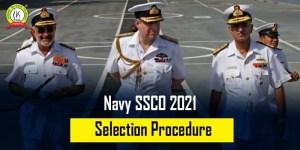 Navy SSCO 2021 Selection Procedure