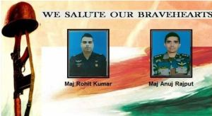 Udhampur Helicopter Crash : Pilots Major Anuj Rajput and Major Rohit Kumar Marytred