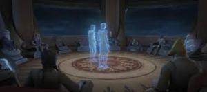 Star War Hologram Jedi Meetings