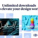 Creative Market Pro: design asset subscription