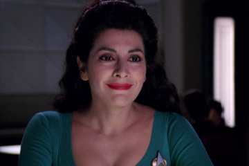 Marina Sirtis as Deanna Troi, Star Trek: The Next Generation