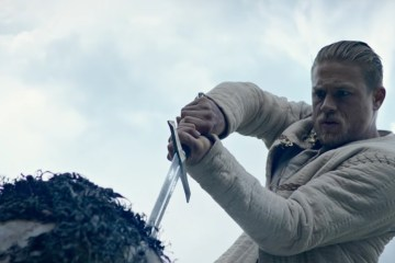 King Arthur on Screen: Charlie Hunnam in King Arthur: Legend of the Sword