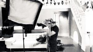Music+Fashion Magazine Shoot | Behind the Scenes