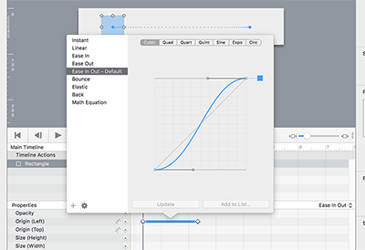 Single Animation Timing Function Pop Upp