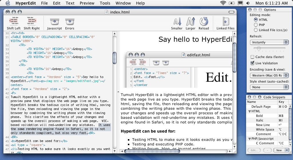 HyperEdit Screen Shot