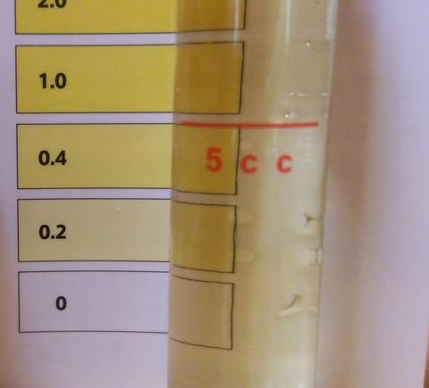 塩素濃度検査液
