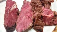 牛のほほ肉を低温調理してステーキにしてみました