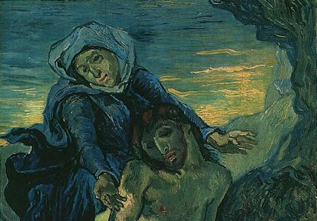 01 Vincent van Gogh, Pietà (after Delacroix), 1889, Vatican Museums