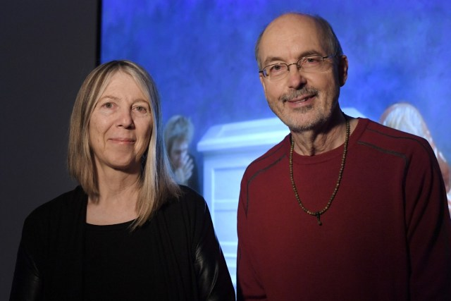 02 Bill Viola and his partner Kira Perova at Palazzo Strozzi
