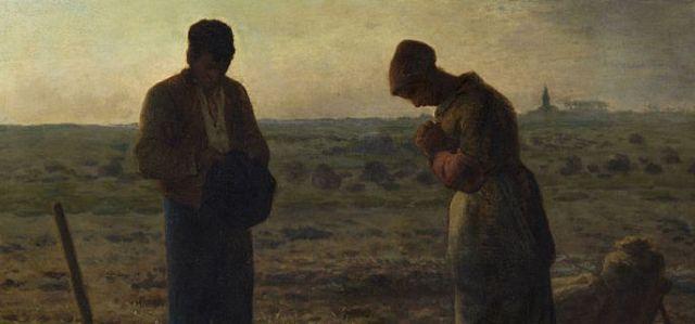 02 Jean-François Millet, The Angelus, 1857–59, Musée d'Orsay, Paris