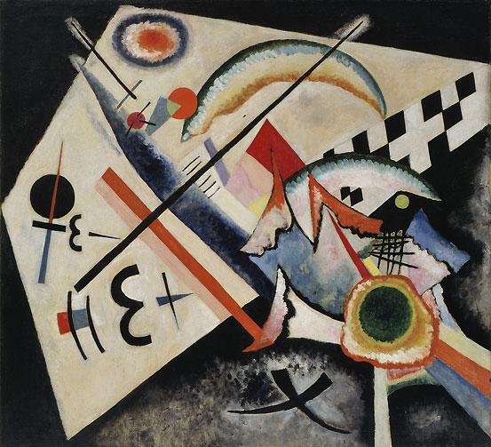 02 Vasily Kandinsky, White Cross, 1922, oil on canvas