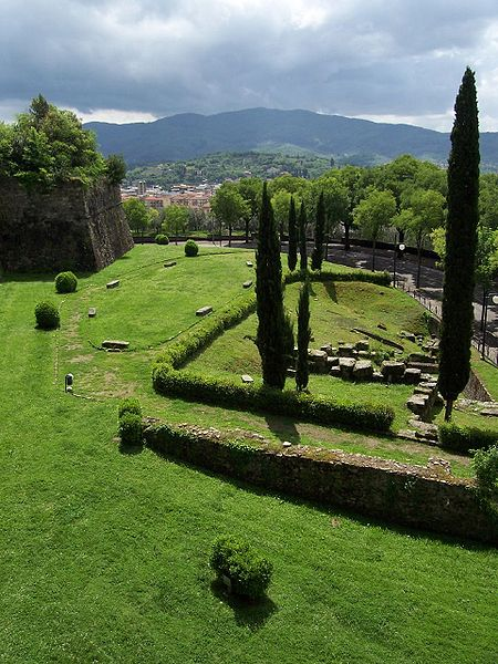 The Medici Fortress, Arezzo