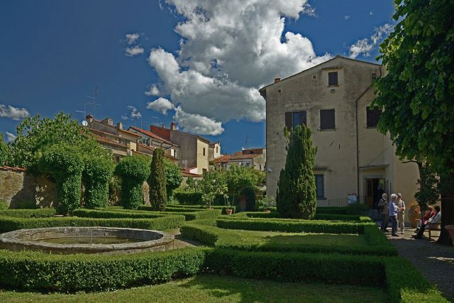 05 Vasari's house and garden in Arezzo