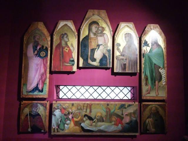 Ambrogio Lorenzetti, Madonna and Child, Pinacoteca Nazionale di Siena