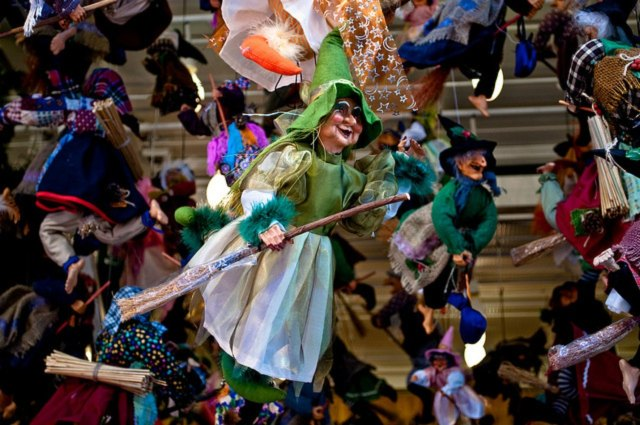 The Befana flies during the night of the 5th