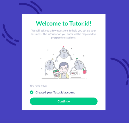 Welcome to your new online tutoring business profile - Tutor.id