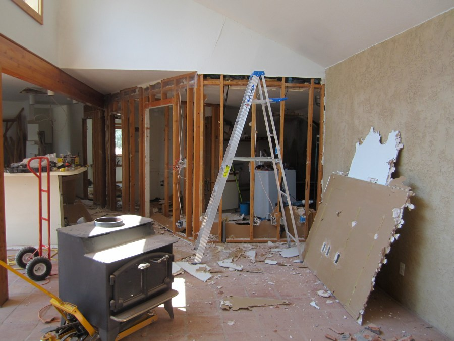 Drywall tearout