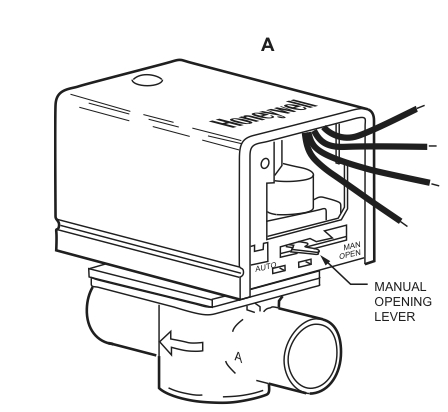 Honeywell Valve Diagram