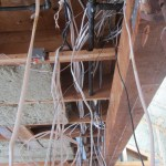Main wiring chase