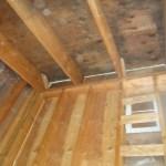 Rafter caulking