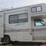 RV at campground