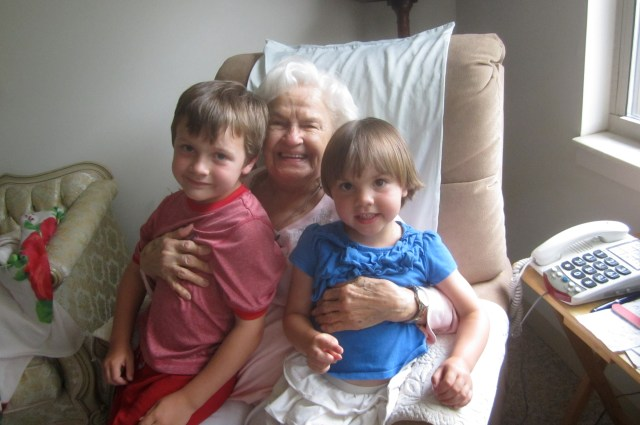 Another visit to Grandma Grand