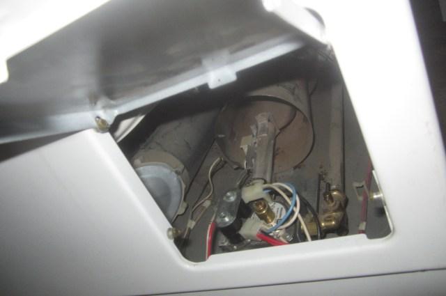 Dryer access door