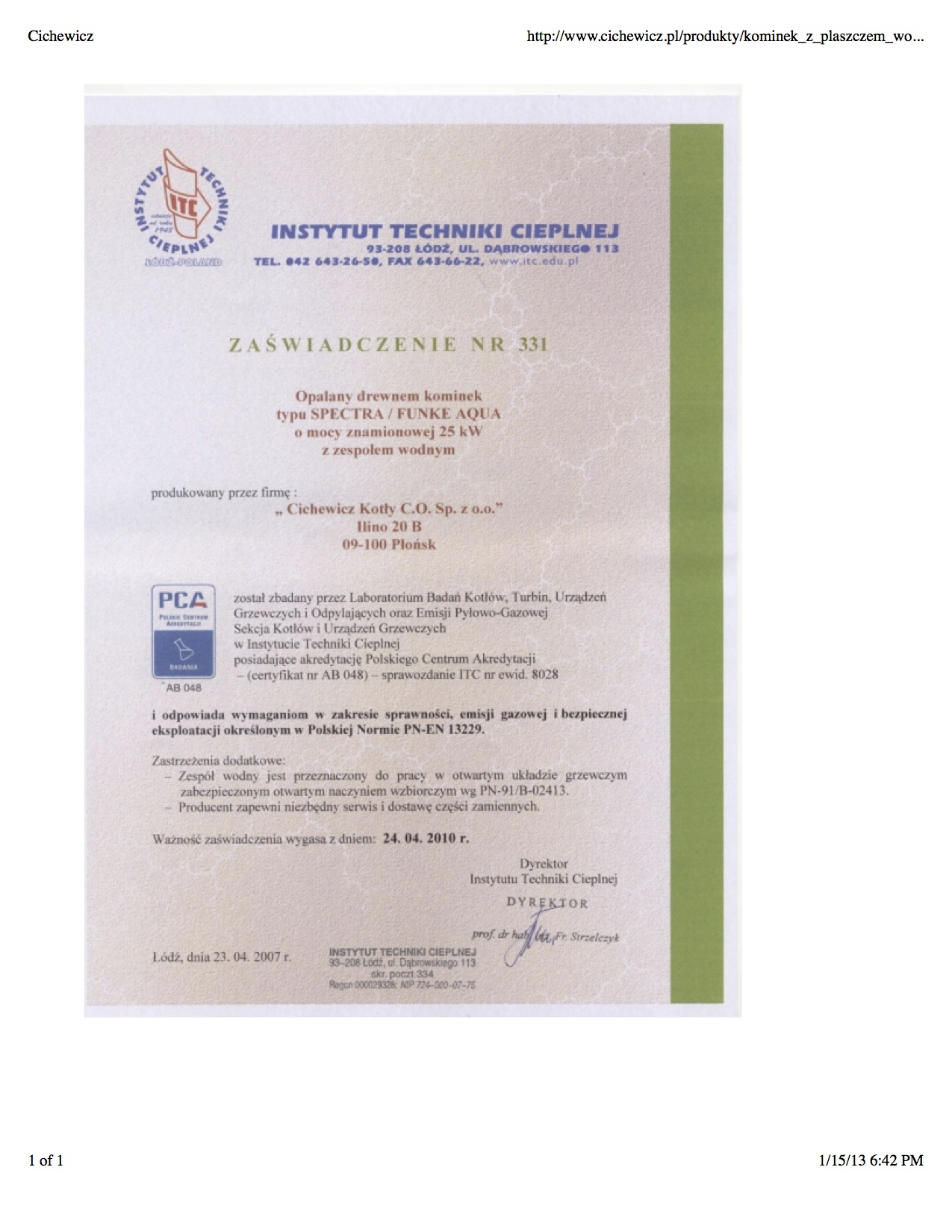 Wood Boiler–EPA Exempt–plus Safety Certification | Twinsprings ...