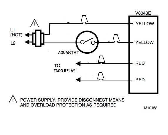 Honeywell zone valve wiring to Taco Relay 2?resize=572%2C460 wiring diagram for taco zone valves 571 2 the wiring diagram zone valve wiring diagram at webbmarketing.co