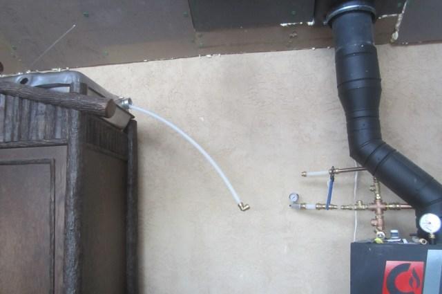 Overflow Tank for Boiler