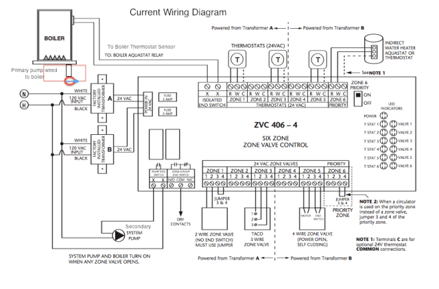 Original wiring diagram