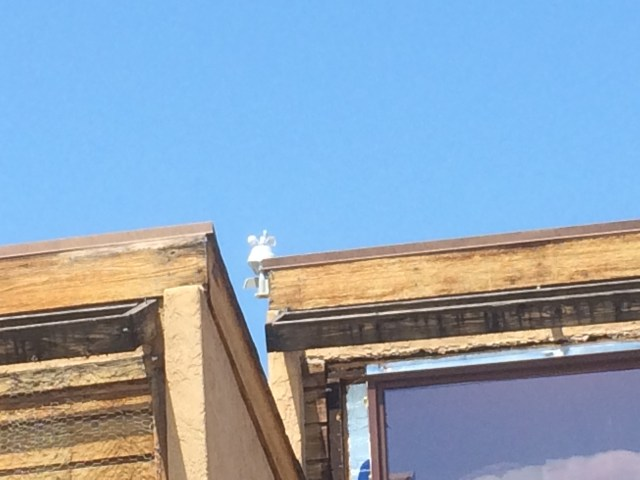 Weather Station on House Top
