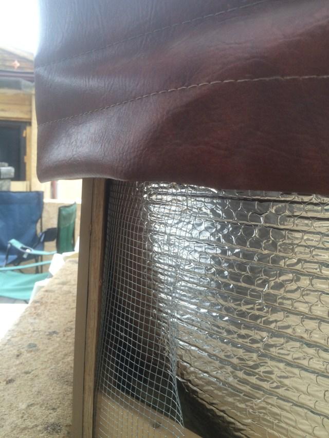 Reflectix and Hardware Cloth