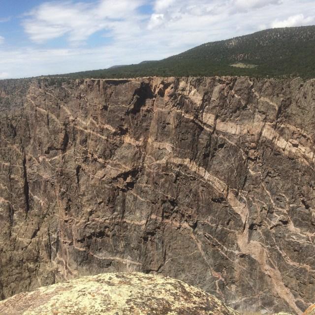 Painted Wall at Black Canyon