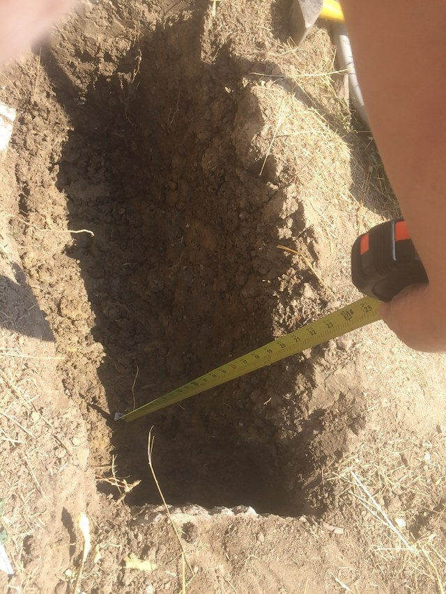 Spa Electrical Trench