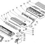 Mini Spilt Indoor Air Unit Structure