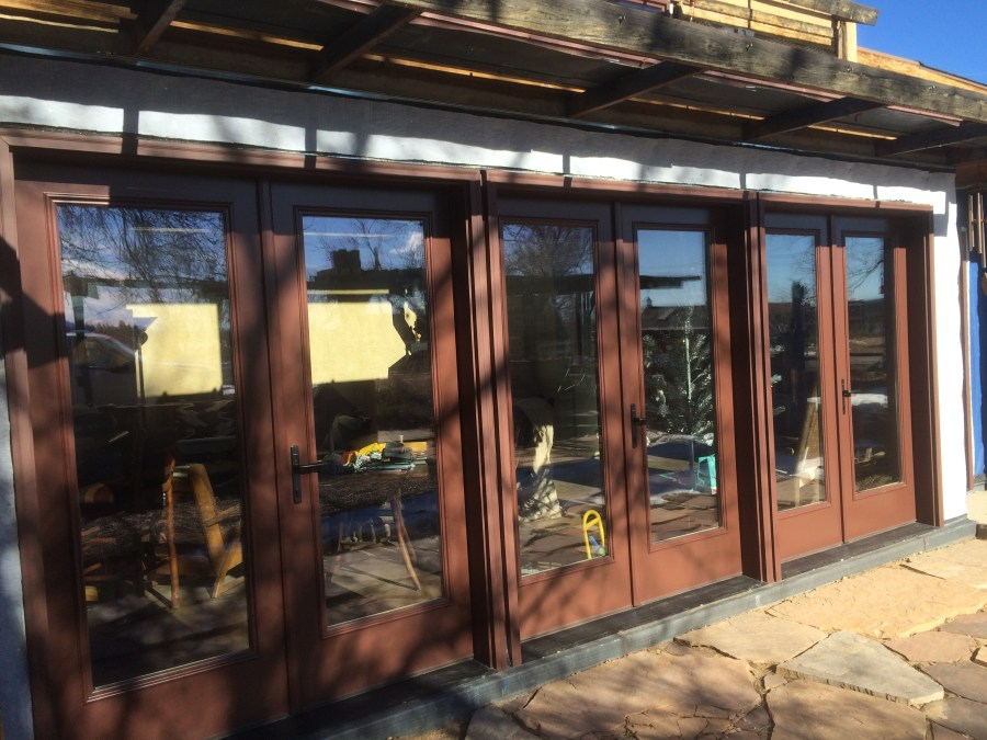Winter Doors with Shading