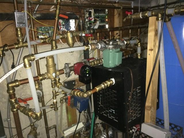 Chiller System Plumbing
