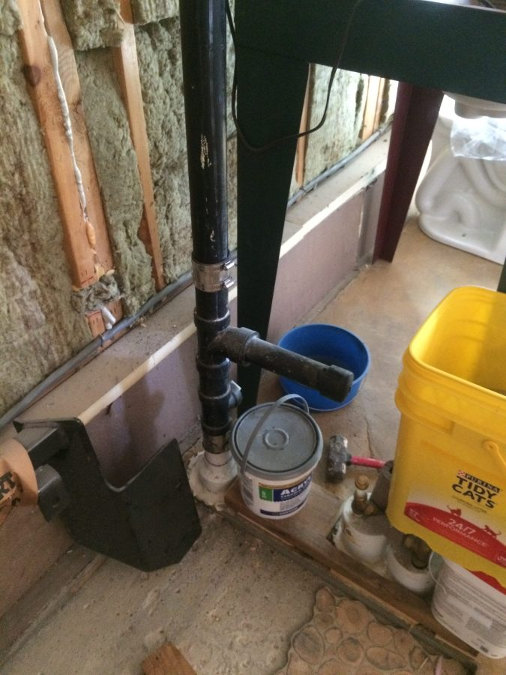 Old master sink plumbing