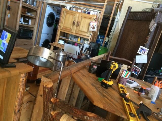 Kitchen/Living Room Half Wall