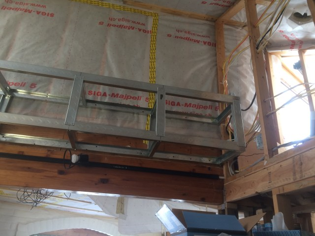 Soffit for Ventilation Duct